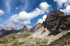 El recorrer en las montañas? Imagen de archivo