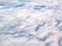 El recorrer en las nubes Foto de archivo libre de regalías