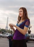 El recorrer en París Foto de archivo libre de regalías