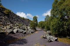 El recorrer en Snowdonia Imagen de archivo libre de regalías