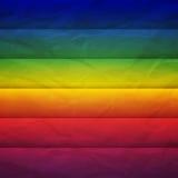 El rectángulo abstracto del arco iris forma el fondo ilustración del vector