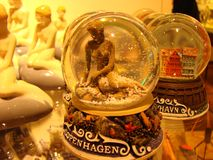 El recuerdo de little mermaid Foto de archivo