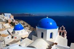 El redondo encantador dos sharped y los templos dirigidos azules a Imagen de archivo libre de regalías