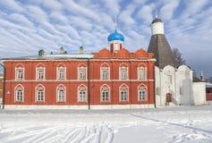 El refectorio de la iglesia de la suposición en Kolomna Imagenes de archivo