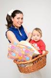 El regalo del bebé Imagen de archivo libre de regalías