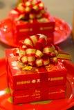 El regalo en la procesión Imágenes de archivo libres de regalías