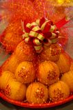 El regalo en la procesión Imagen de archivo libre de regalías