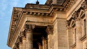 El Reichstag Bulding en Berlín, Alemania