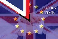 El Reino Unido fuera de la calidad de miembro de la unión europea Imágenes de archivo libres de regalías