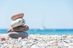 El relajar en la playa Fotos de archivo