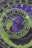El reloj astronómico Foto de archivo