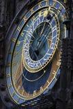 El reloj astronómico Fotos de archivo