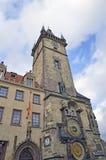El reloj astronómico de Praga Fotos de archivo