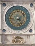El reloj astronómico Padua Padua Imágenes de archivo libres de regalías