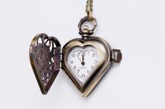 El reloj de antaño manual. Fotografía de archivo libre de regalías