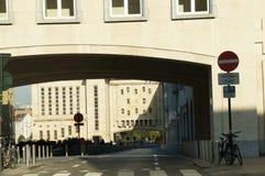 El reloj de ciudadanos, Bruselas Imagen de archivo libre de regalías