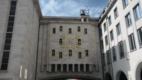 El reloj de ciudadanos en Bruselas