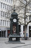 El reloj de Kröpcke Fotos de archivo libres de regalías