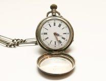 El reloj de la mano Fotografía de archivo libre de regalías