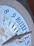 El reloj de sol Imagenes de archivo