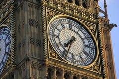 El reloj en la torre Imagen de archivo