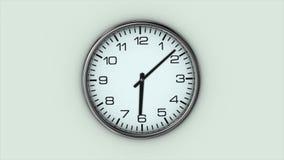 El reloj grande gira r?pidamente ilustración del vector