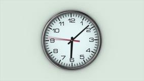 El reloj grande gira r?pidamente stock de ilustración