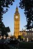 El reloj, Londres imagenes de archivo