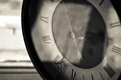 El reloj viejo Imagen de archivo libre de regalías