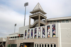 El remodelado de Hammond Stadium foto de archivo