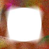 El remolino Dote marco Fotografía de archivo libre de regalías
