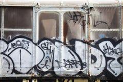 El repai que espera del parque viejo del tren para Imagen de archivo libre de regalías