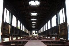 El repai que espera del parque viejo del tren para Imágenes de archivo libres de regalías
