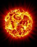 El repartir de Sun Fotos de archivo