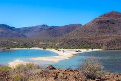 El Requeson Beach, Mulege royalty free stock image
