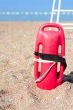 El rescate del salvavidas puede Imagenes de archivo