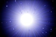 El resplandor aisló el sistema del efecto luminoso, la llamarada de la lente, la explosión, el brillo, la línea, el flash del sol libre illustration