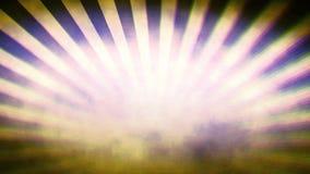 El resplandor solar retro estilizado ilustró el fondo gráfico stock de ilustración