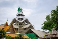 El restablecimiento Wat Pho es un complejo del templo budista en Bangkok, Thailan Fotos de archivo