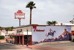El restaurante de Rancho 7 en Arizona Imagen de archivo libre de regalías