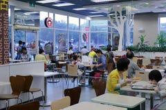 El restaurante del kfc en alameda del SM Imagen de archivo
