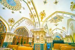 El restaurante famoso en Isfahán, Irán imagenes de archivo