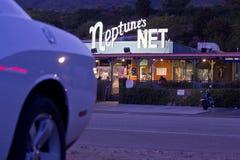 El restaurante neto de Neptuno imagenes de archivo