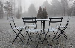 El resto del invierno Foto de archivo