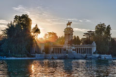El Retiro Royalty Free Stock Photography