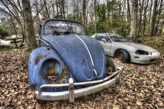 El retiro del coche Imagen de archivo libre de regalías