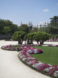 El Retiro park Royalty Free Stock Image