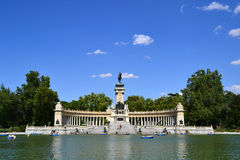 El Retiro Park in Madrid, Spain Royalty Free Stock Images
