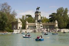 El Retiro Park in Madrid, Spain Stock Photo