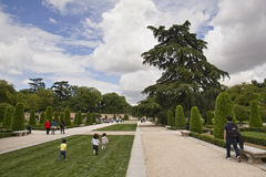 El Retiro park w Madryt, Hiszpania Zdjęcia Royalty Free